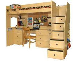 Google Image Result for http://www.homeartblog.com/wp-content/uploads/2013/05/Bunk-Beds-With-Desk-35.jpg