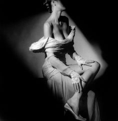 photo by Jeanloup Sieff by dovima is devine II, via Flickr