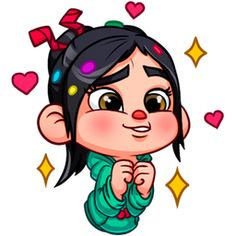 Oh my, that face, how can you not resist or say no to that face? Cute Disney Drawings, My Drawings, Disney Love, Disney Art, Vanellope Von Schweetz, Disney Kunst, All Things Cute, Lilo And Stitch, Disney Wallpaper
