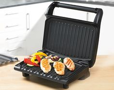 George Foreman 5 Portion Black Grill