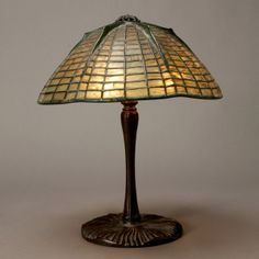 Lot 1123 – Tiffany Studios Spider Lamp. – Furniture & Decorative Art Auction, featuring 20th Century Design 08 Jun 2012
