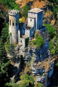 Emmy DE * Erice Castle, Sicily, Italy ..