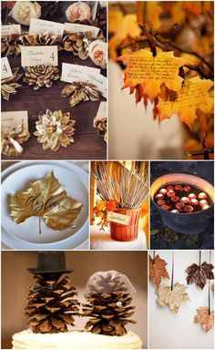 Ideas and Inspiration for your Autumn Wedding - details