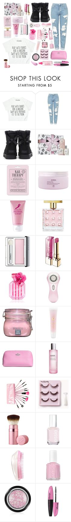 """""""Happy Easter🌷😇"""" by pumpkinseed112 ❤ liked on Polyvore featuring Topshop, UGG, philosophy, Love 21, Aveda, Origins, Michael Kors, Clinique, L'Oréal Paris and Victoria's Secret"""