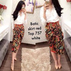 Batik skirt