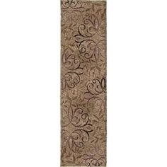 Shop for Carolina Weavers Comfy and Cozy Grand Comfort Collection Toro Beige Shag Area Rug (2'3 x 8'). Get free shipping at Overstock.com - Your Online Home Decor Outlet Store! Get 5% in rewards with Club O! - 16815244