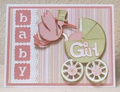 cards made with cricut new arrival cartridge  | My boss and his wife are becoming Grandparents for the