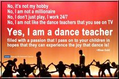 teacher, quotes, sayings, learning, teaching, dancing