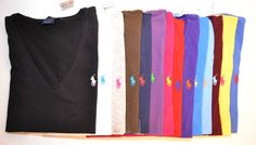 These a great shirts! Very comfortable! Deff worth every dollar! Polo Ralph Lauren Womens V Neck s s T Shirt