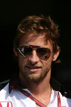 Formula 1 Drivers are hotter than you think Jenson Button Morably Formula 1 Car Racing, Band On The Run, I Love Beards, Checkered Flag, F1 Drivers, Lets Do It, F1 Racing, Tiger, Formula One