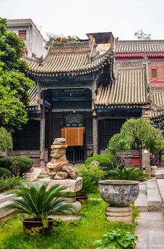 Ancient The Great Mosque of Xi'an. Chris Taylor  | In #China? Try www.importedFun.com for award winning #kid's #science |