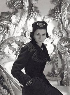 Coco Chanel, photo by Horst P. Horst, 1937