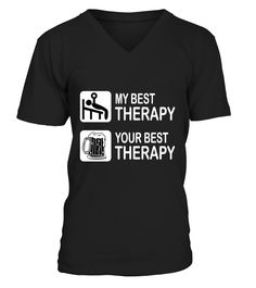 Fitness My Best Therapy  Funny Fitness T-shirt, Best Fitness T-shirt