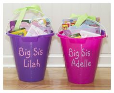 Adventures in Tullyland: Preparing for Baby: Big Sister Gifts