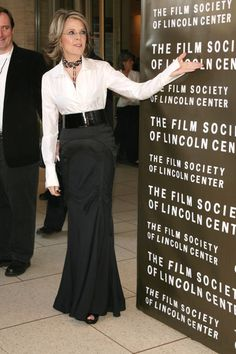 At the  Film Society Of Lincoln Center 34th Gala Tribute to Diane Keaton.