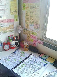 School Organisation, Study Organization, College Motivation, Study Motivation, Study Areas, Study Space, Study Methods, Study Tips, Studyblr