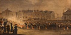 Richard Barrett Davis, The Funeral Procession of the Much Beloved and Regretted Princess Charlotte of Wales and of Saxe Coburg, 1817