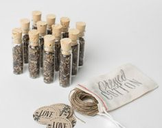 Watch Our Love Grow wildflower seeds favors sample by 2beUdesign