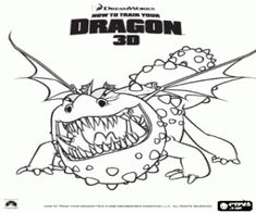How to Train Your Dragon Coloring Pages - Free Printable | Dragons ...
