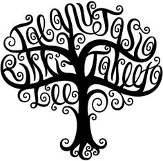 """Taeanu"", ""Jasia"", ""Rikki-Lee"", & ""Takeeta"" Tree Design 