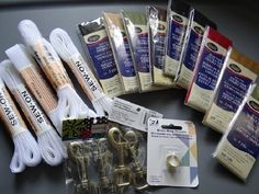 Lot of sewing goods . Starting at $5 on Tophatter.com!