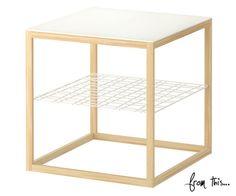 DIY IKEA Copper Side Table Hack — Style Me Pretty Living