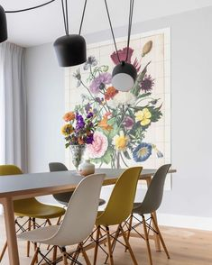 The perfect flowers for your home by IXXI. How would you style this piece of art in your interior?