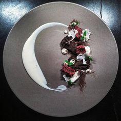 cauliflower and dark chocolate aero