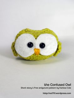 Owl free crochet pattern by Karissa Cole
