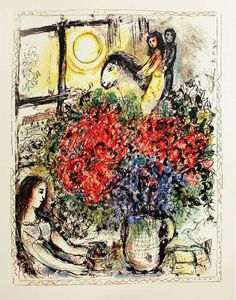 Marc Chagall - The Ride - 1970