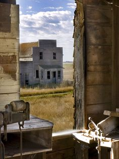 Deserted town in Saskatchewan - Bents
