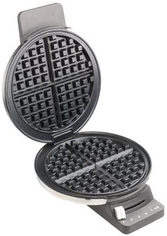 Cuisinart WMR-CA Round Classic Waffle Maker Iron for sale online Waffle Ice Cream, Waffle Iron, Belgium Waffles, Iron Reviews, Homemade Waffles, Breakfast Waffles, Perfect Breakfast, Brushed Stainless Steel, Waffles