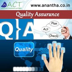 Anantha Cybertech expertise in Quality Assurance to deliver software on time while reducing the overall cost of quality http://www.anantha.co.in/quality-assurance-services