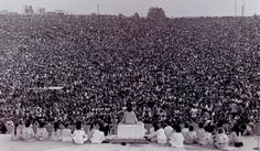 Woodstock - The Opening Ceremony. Bethel, New York, 14 August 1969