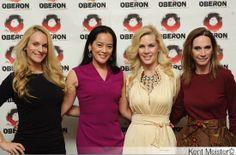 Consuelo Vanderbilt Costin, Cassandra Seidenfeld, Michelle-Marie Heinemann,  Michele Gerber Klein