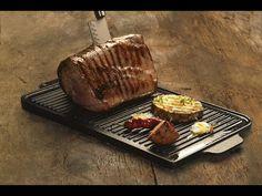 Μαντεμένιες Πλάκες Ψησίματος www.kioumourtzoglou.gr How To Cook Steak, How To Cook Eggs, Lodge Cast Iron, Kitchen Stove, Roasting Pan, Griddles, Griddle Pan, Lava, Grilling