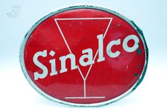 Sinalco Blechschild  - cyan74.com vintage & pop culture