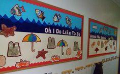 The Seaside classroom display photo - Photo gallery - SparkleBox Classroom Displays Eyfs, Preschool Displays, Classroom Decor Themes, Preschool Ideas, Eyfs Activities, Nursery Activities, Toddler Learning Activities, Infant Activities, Summer Display Board Nursery