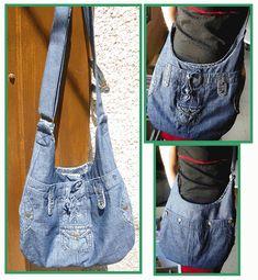 besace jeans, denim