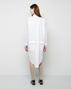 Acne Studios | Leavy Poplin Shirtdress | La Garçonne