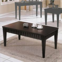 Discount prices on chocolate coffee tables in many shapes and sizes. Contemporary and transitional chocolate coffee tables. Wood coffee tables in chocolate finishes. Clean Modern, Home Kitchens, Table, Home, Contemporary Style, Coffee Table Wood, Coffee Table, Home Decor, Living Room Kitchen