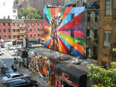 Kobra in NYC - The High Line