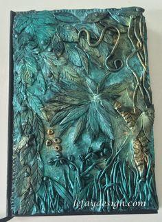 Jungle Fever Polymer Clay JournalPolymer Clay von leFayDesign