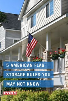 Flag Code was enacted in 1942 as a way to protect the special and symbolic message of the American flag. Test your knowledge of the Flag Code with these 5 lesser-known rules for flag storage. Veterans Association, Respect The Flag, Flag Code, Triangular Pattern, Symbols Of Freedom, American Legions, Moving And Storage, Star Spangled Banner, Dark Places