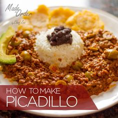 How to Make Cuban Picadillo / Dominican Carne Molida ... Awesome recipe for anything that calls for ground beef!