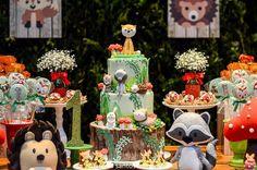 No hay ninguna descripción de la foto disponible. Woodland Party, Fun Crafts, Birthday Parties, Birthdays, Alice, Baby Shower, Cakes, Cool Stuff, Instagram