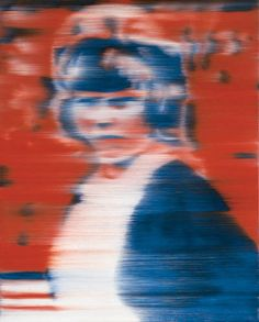 Gerhard Richter » Art » Paintings » Photo Paintings » Young Girl (coloured) » 104-5