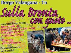 I #bambini potranno imparare e divertirsi a #borgovalsugana con i #laboratori e i #giochi di #sullabrentacongusto