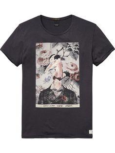 T-shirt Carnaby Surf |T-shirts & hauts m/c en jersey|Habillement Homme Scotch & Soda