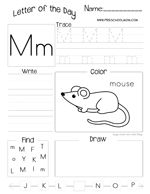 Letter R Preschool Printables -